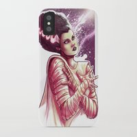 bride iPhone & iPod Cases featuring BRIDE by Lorena Carvalho