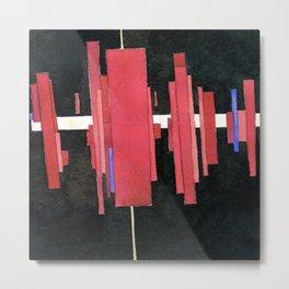 Ilya Chashnik Construction in Red Metal Print
