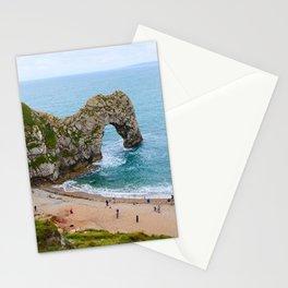 Durdle Door   Natural Arch   Dorset, Jurassic Coast, UK   Fine art landscape photography Stationery Cards