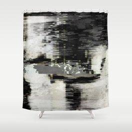 Transformative Space - Glitch 01 Shower Curtain