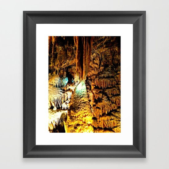 Cavern Beauty Framed Art Print