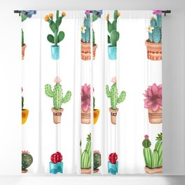 Cactus Blackout Curtain