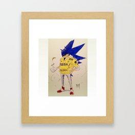 1991 Sonic Framed Art Print