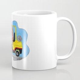 Driving the forklift Coffee Mug