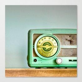 Turn Up The Radio Canvas Print