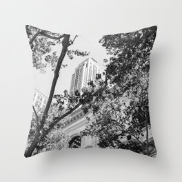 New York Library Throw Pillow