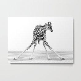 leggers Metal Print