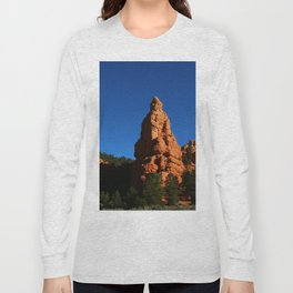 Red Rock Canyon Rockformation Long Sleeve T-shirt