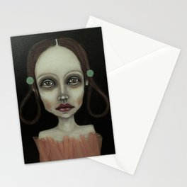 point girl Stationery Cards