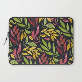 Loose Leaves - warm colors Laptop Sleeve