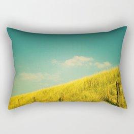 Golden Field Rectangular Pillow