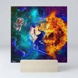 GLOBAL WARMING Mini Art Print