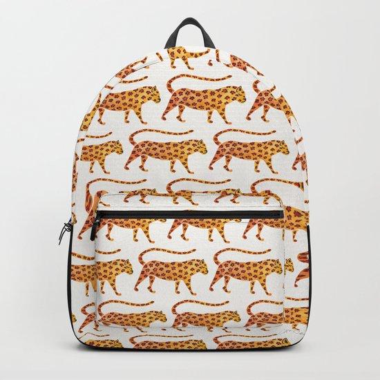 Jaguar – Green Leaves Backpack