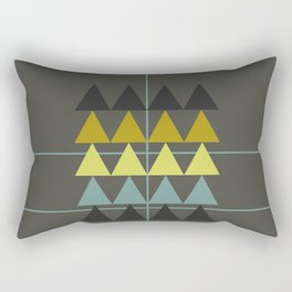 disguise forest || spring neon Rectangular Pillow