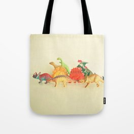 Walking With Dinosaurs Tote Bag