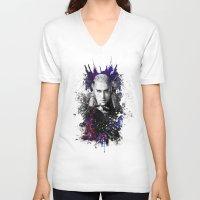 thranduil V-neck T-shirts featuring Thranduil by Ryky