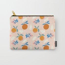 Orange Peach Carry-All Pouch