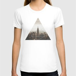 Empire State Building - Geometric Photography T-shirt