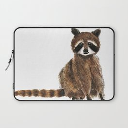 baby raccoon watercolor Laptop Sleeve