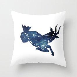 Constellation - Capricornus Throw Pillow