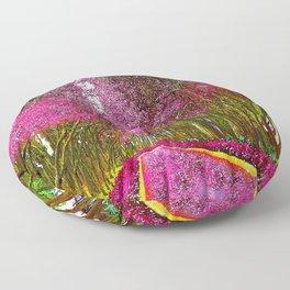 CHERRY BLOSSOM PATHWAY Floor Pillow