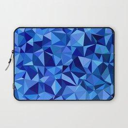 Blue tile mosaic Laptop Sleeve