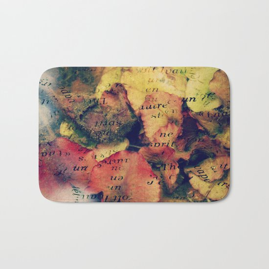 Waterlily Leaves - JUSTART © Bath Mat