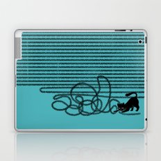 Unravel (in Blue) Laptop & iPad Skin