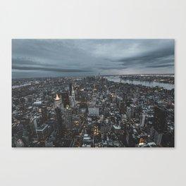 New York city views Canvas Print