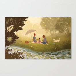 first step Canvas Print