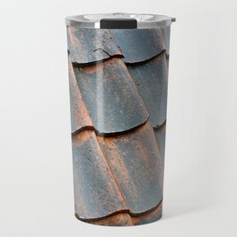 Old tile roof Travel Mug