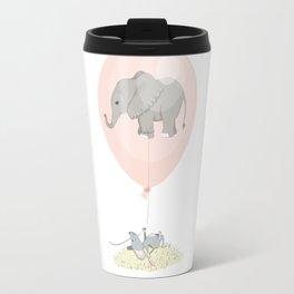Elephant in a balloon Travel Mug