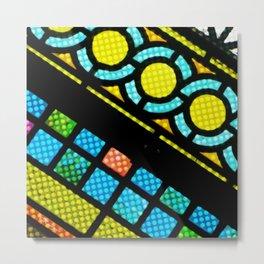 NEW LIFE CHURCH WINDOW Metal Print