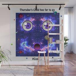 Thursday's Child Wall Mural