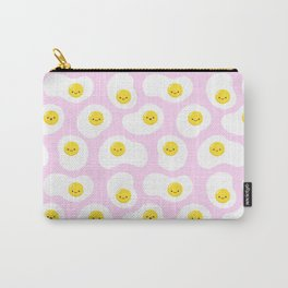 Cute Fried Eggs Pattern Carry-All Pouch