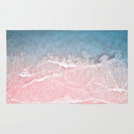 pink sand Rug