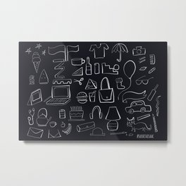 A few of my favourite things Metal Print