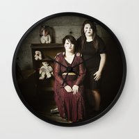 family Wall Clocks featuring Family by Flashbax Twenty Three