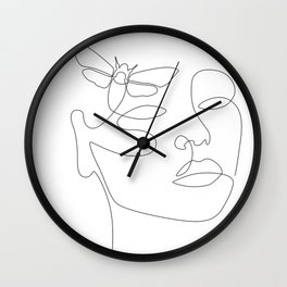 Give Me Wings Wall Clock