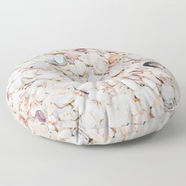 Seashells of Sanibel Floor Pillow