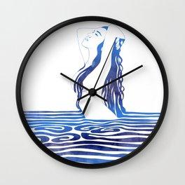 Water Nymph X Wall Clock