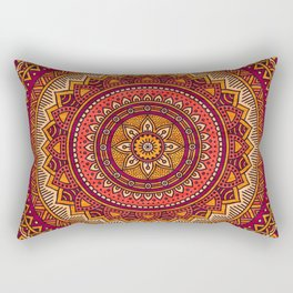 Hippie mandala 33 Rectangular Pillow