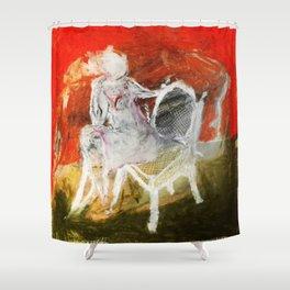 Woman & Chair Shower Curtain