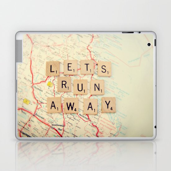 Let S Run Away Laptop Amp Ipad Skin By Shannonblue Society6