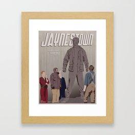 Jaynestown Framed Art Print