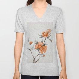 flowers / 65 Unisex V-Neck
