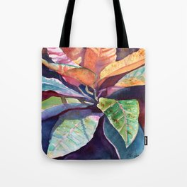 Colorful Tropical Leaves 3 Tote Bag