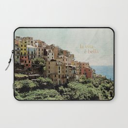 la vita è bella Laptop Sleeve