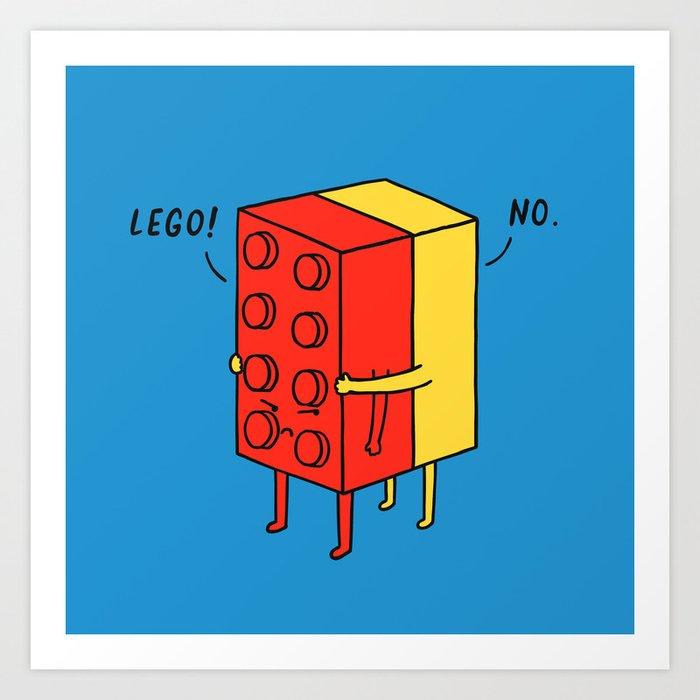 Le go! No Kunstdrucke