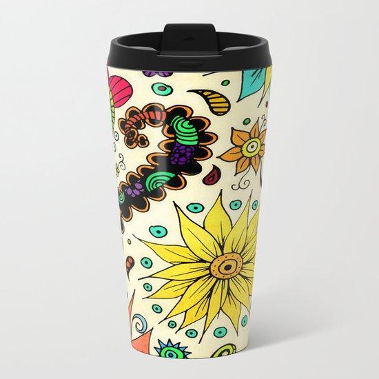 Botanic Metal Travel Mug
